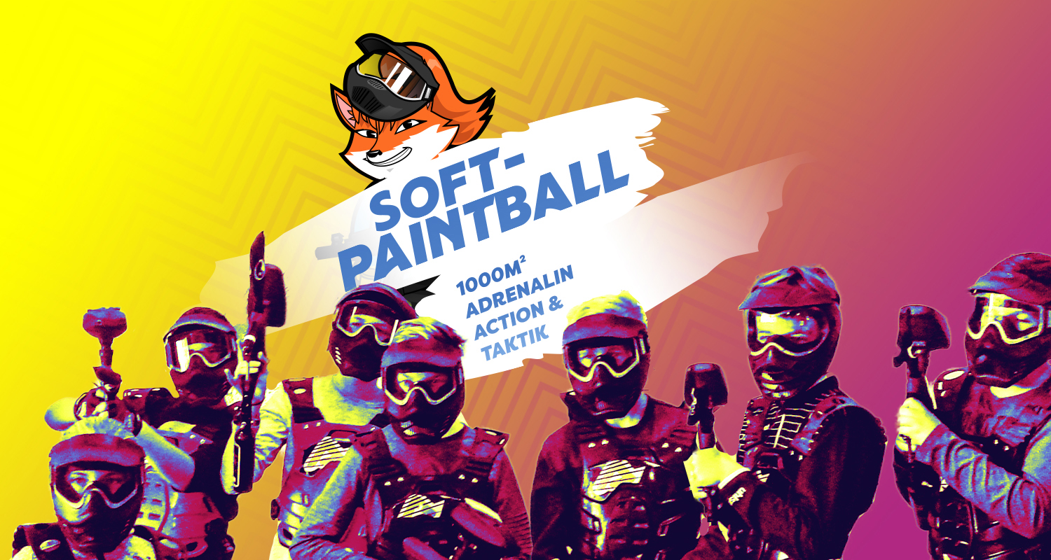 Headerbild zu Soft-Paintball