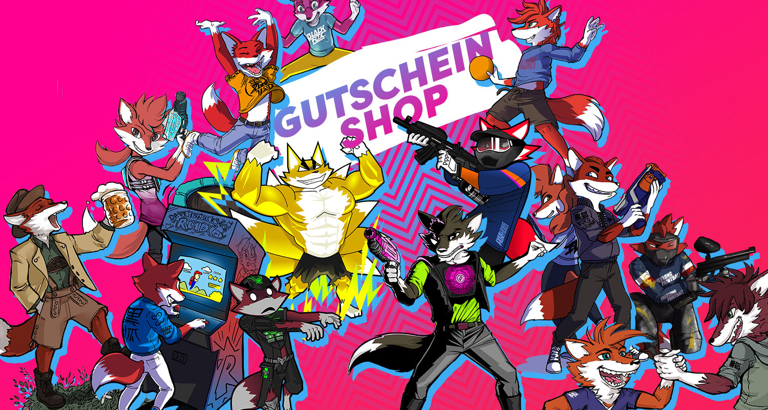 Black Fox World - Headerbild Gutscheinshop