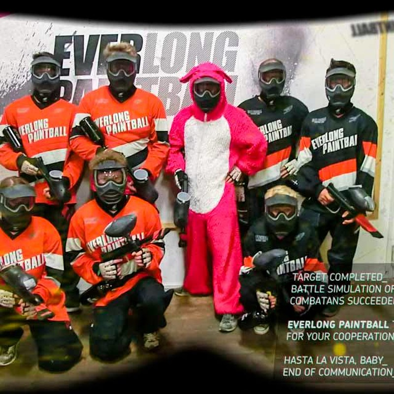 Geburtstagsaction bei Everlong Paintball