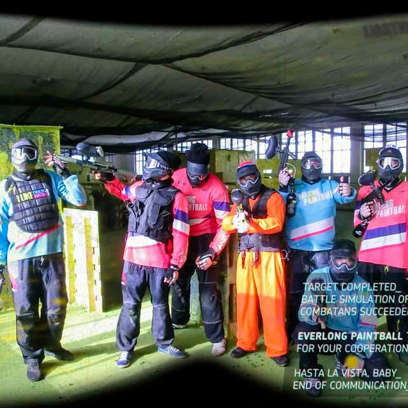 Gruppenausflug zu Everlong Paintball