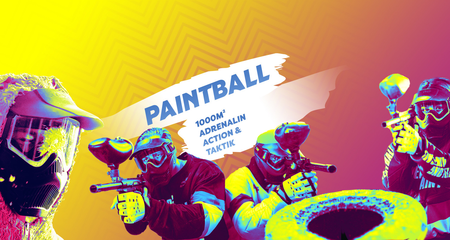 Headerbild Black Fox World - Paintball