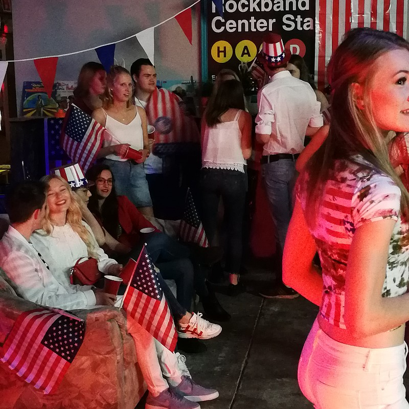 USA Party im Black Fox Sturmfrei